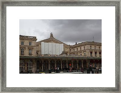 Paris France - Street Scenes - 0113143 Framed Print by DC Photographer