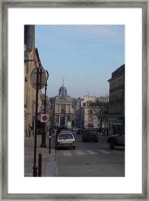 Paris France - Street Scenes - 011317 Framed Print by DC Photographer