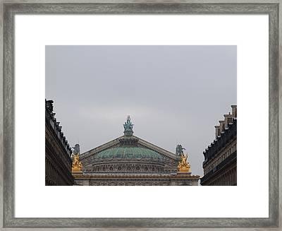 Paris France - Street Scenes - 011328 Framed Print by DC Photographer