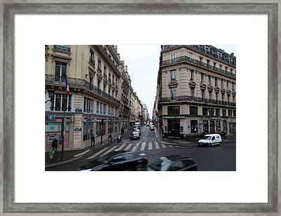 Paris France - Street Scenes - 011330 Framed Print by DC Photographer