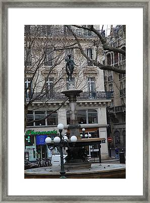 Paris France - Street Scenes - 011334 Framed Print by DC Photographer