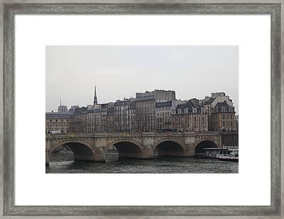 Paris France - Street Scenes - 011343 Framed Print by DC Photographer