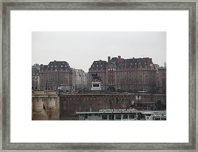 Paris France - Street Scenes - 011344 Framed Print by DC Photographer
