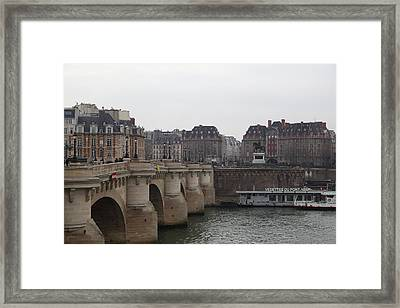Paris France - Street Scenes - 011345 Framed Print by DC Photographer