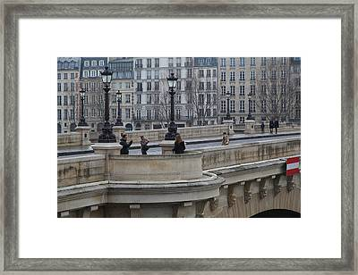 Paris France - Street Scenes - 011347 Framed Print by DC Photographer