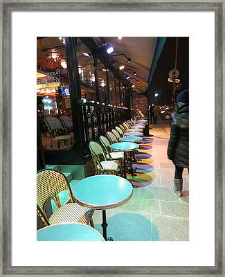 Paris France - Street Scenes - 12123 Framed Print by DC Photographer