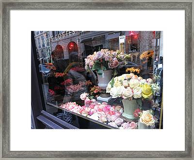 Paris France - Street Scenes - 121237 Framed Print by DC Photographer