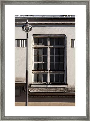 Paris Geometry 3 Framed Print by Art Ferrier