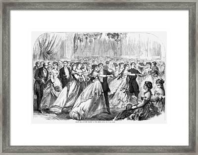 Paris Grand Ball, 1867 Framed Print by Granger