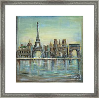 Paris Highlights Framed Print by Marilyn Dunlap