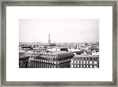 Paris In The Afternoon Framed Print by Vivienne Gucwa
