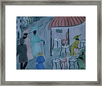 Paris Framed Print by Inge Lewis