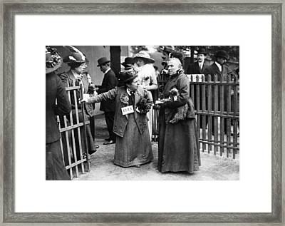 Paris Luna Park, C1900 Framed Print by Granger