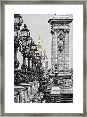 Paris Pompous Framed Print by Joachim G Pinkawa