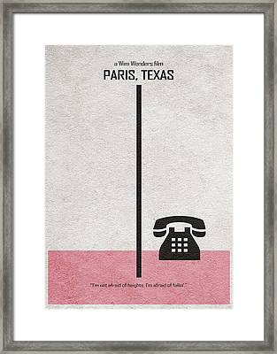 Paris Texas Framed Print by Ayse Deniz