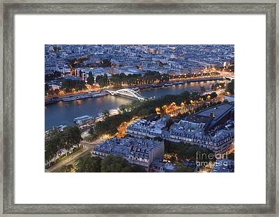 Paris View Framed Print by Ivete Basso Photography
