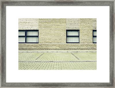 Parking Space Framed Print by Tom Gowanlock