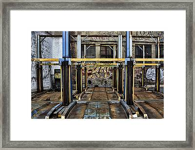 Parking Unreality Framed Print by Joanna Madloch