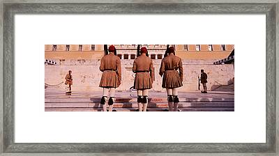 Parliament, Athens, Greece Framed Print by Panoramic Images