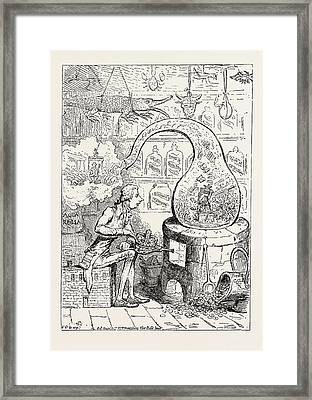 Parliamentary Elections And Electioneering In The Old Days J Framed Print by English School