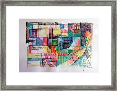 Parshat Aikev Framed Print by David Baruch Wolk