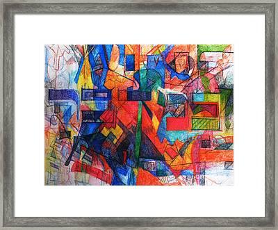 Parshat Bamidbar Framed Print by David Baruch Wolk