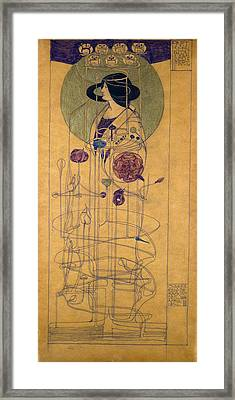 Part Seen, Imagined Part, 1896 Framed Print by Charles Rennie Mackintosh