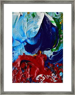 Parting The Red Sea Framed Print by Donna Blackhall