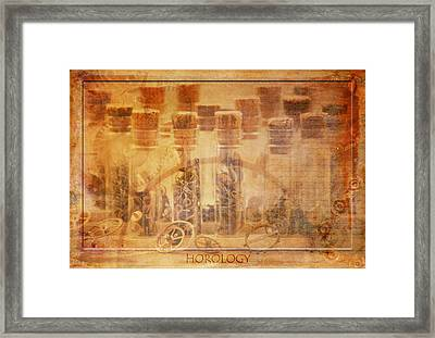 Parts Of Time Framed Print by Fran Riley