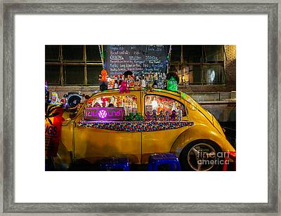 Party Bug Framed Print by Dean Harte