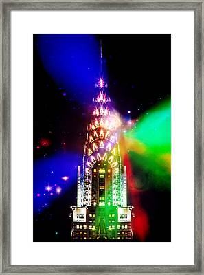 Party Time Framed Print by Az Jackson