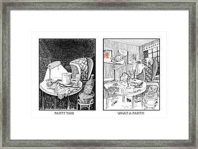 Party Time Framed Print by Jack Pumphrey