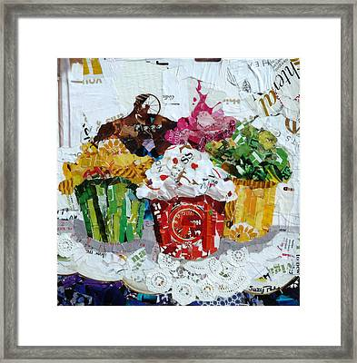 Party Time Framed Print by Suzy Pal Powell