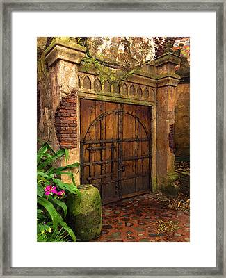 Passage To The Past Framed Print by Doug Kreuger