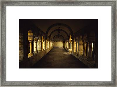 Passageway Framed Print by Chris Fletcher