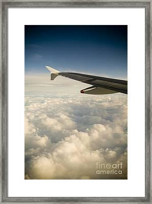 Passenger View Framed Print by Tim Hester