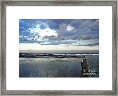 Passing Of The Storm Framed Print by Kaye Menner