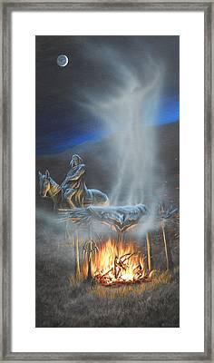 Passing Spirit Framed Print by Mark Mittlesteadt