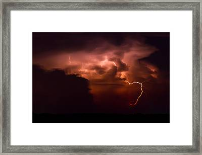 Passing Storm Framed Print by Nathaniel Kidd