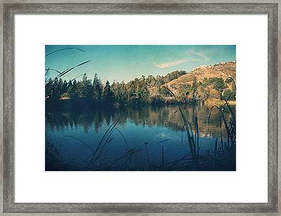 Passing The Day Away Framed Print by Laurie Search