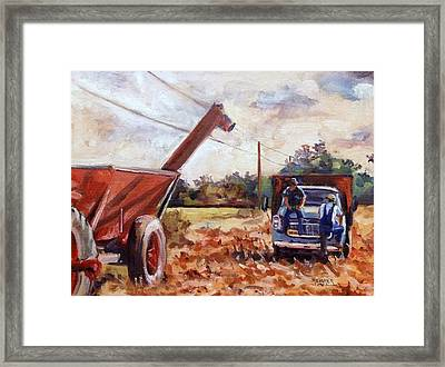 Passing The Time Framed Print by Spencer Meagher
