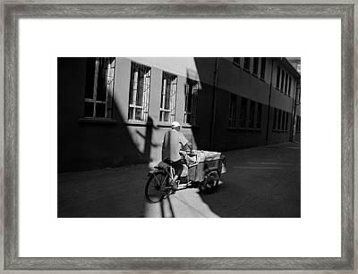 Passing Through Light Framed Print by Ilker Goksen