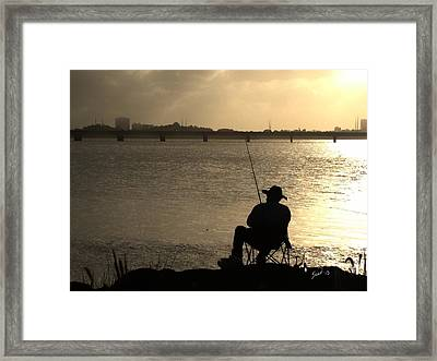 Passing Time Framed Print by Yiries Saad