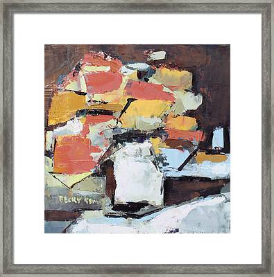 Passion 4 Framed Print by Becky Kim