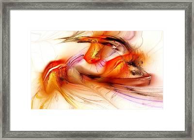 Passion Framed Print by Anastasiya Malakhova
