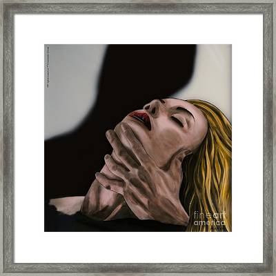 Passion Framed Print by Betta Artusi