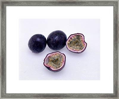 Passion Fruit Framed Print by G. Buttner/Okapia