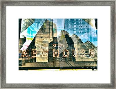Passion Nyc At The New House Framed Print by Sabine Jacobs