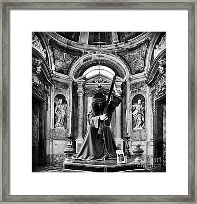 Passion Of Christ Framed Print by Jose Elias - Sofia Pereira