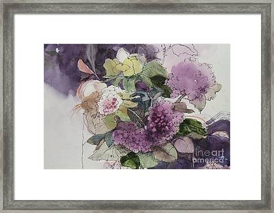 Passionate About Purple Framed Print by Elizabeth Carr